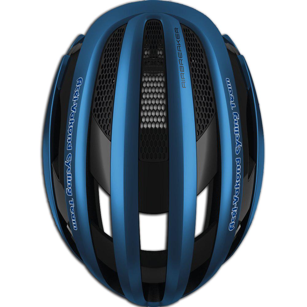 Acél-Vakond Cycyling Team Kerékpár Sisak látvány terv